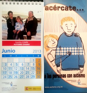 Calendario de la CAE más el tríptico de información sobre los TEA