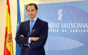 Conseller de Sanitat Honorable Sr. D. Manuel Llombart Fuertes. Foto:GVA