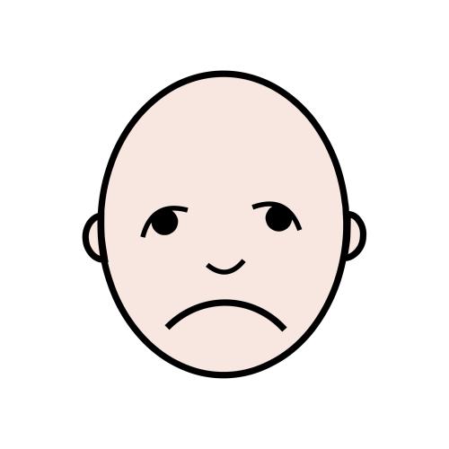 El pictograma de la tristeza - Autismo Diario