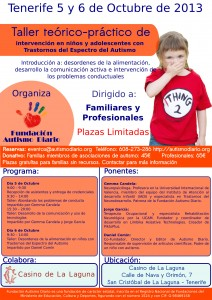 CartelTallerAutismoDiario