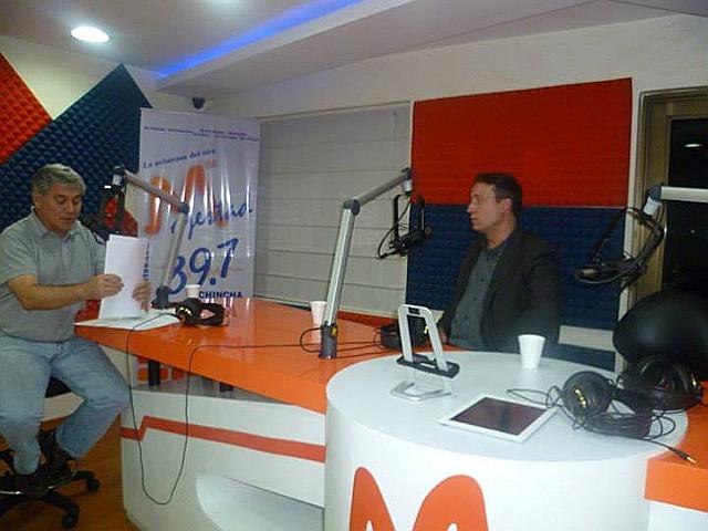 entrevista en radio Majestad con Bernardo Abad