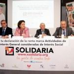 """Más de 6 millones de personas se benefician de proyectos sociales gracias a la """"X Solidaria"""""""