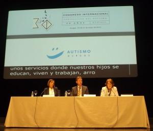 Acto de inauguración del Congreso Autismo Burgos