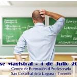 Clase Magistral sobre Comunicación y Lenguaje en La Laguna (Tenerife – España)