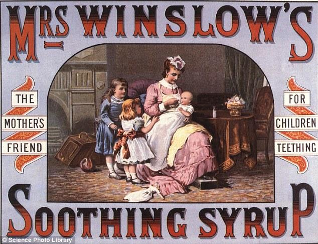 Jarabe calmante de señora Winslow a base de morfina