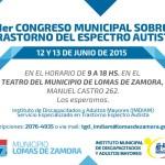 1er Congreso Municipal sobre Trastorno del Espectro del Autismo en Buenos Aires – Argentina