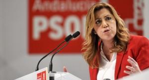 Susana Díaz, presidente de la Junta de Andalucía.