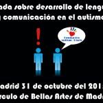 Jornada sobre desarrollo de lenguaje y comunicación en el autismo