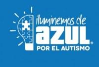 Logotipo de Iluminemos de Azul.