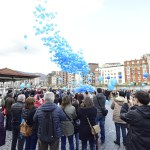 APNABI celebra el Día Mundial del Autismo que tendrá su continuidad mañana con la iluminación azul del edificio de la Diputación Foral