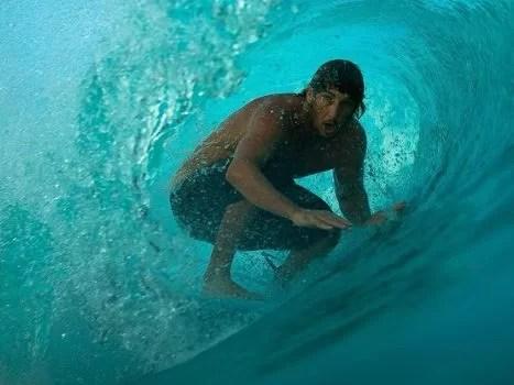 Surfista Clay Marzo é autista Foto: @aqua_atom/Divulgação