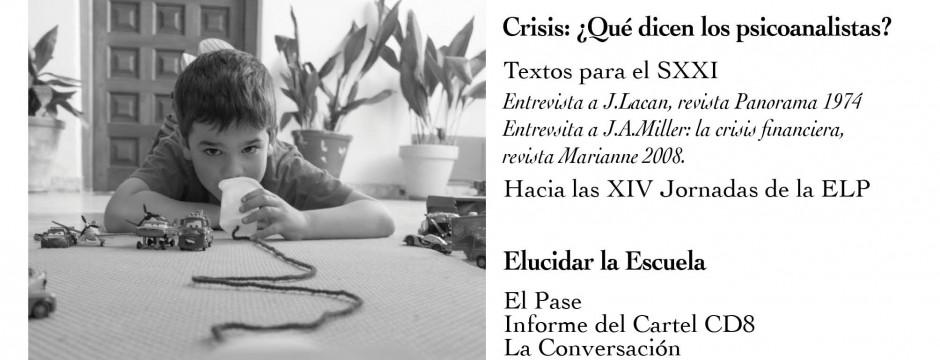 """NUEVA ENTREGA DE """"EL PSICOANÁLISIS"""" #27. REVISTA DE LA ESCUELA LACANIANA DE PSICOANÁLISIS."""