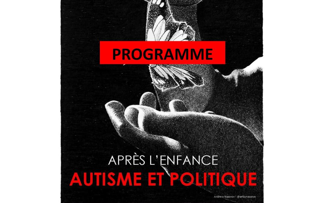 Programme du Forum International sur l'Autisme