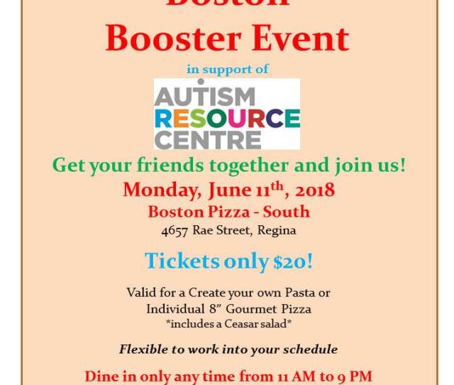 Boston Booster Fundraiser June Th