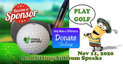 Raising SCV Awareness – Autism    Topping Brothers 2020 Annual Tournament