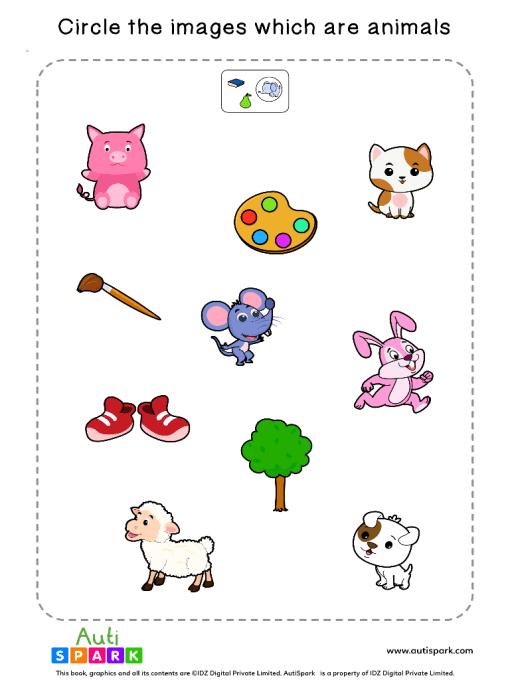 Sort By Animals Worksheet 2