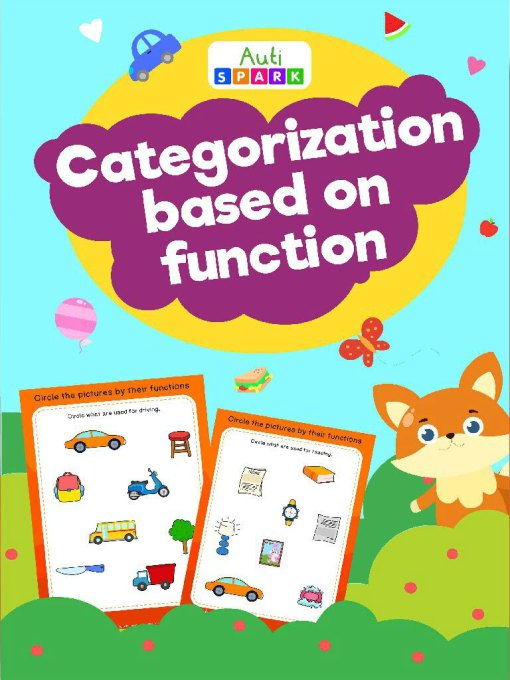Circle Pictures By Function – Image Sorting Workbook