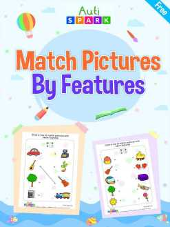 Match The Pictures By Feature – Best Matching Workbook : 1