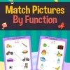Function Matching Best Matching Activity Workbook : 1