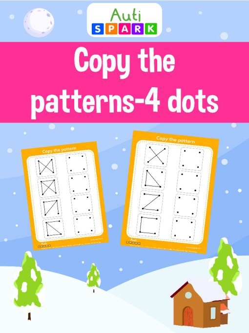 join the dots copy the pattern workbook