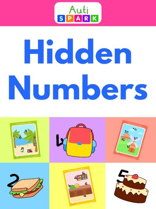 Find Hidden Numbers In Pictures - Fun Activity Workbook : 1