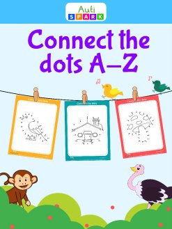 Connect The Dots A - Z : Fun Dot To Dot Printable Workbook 1