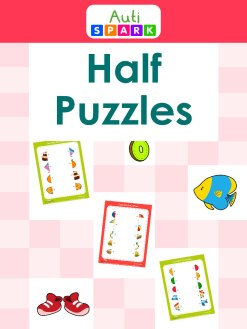Match The Objects With Other Half - Fun Matching Workbook : 1
