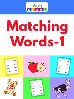 match the words - 3 letter word matching workbook