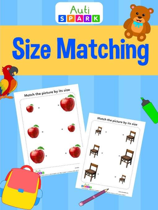 Match By Size – Matching Workbook