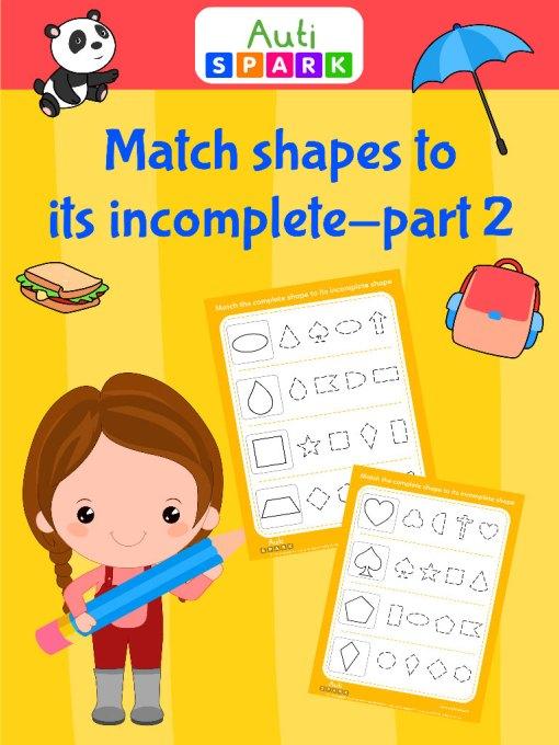 match shapes to its imcomplete 2 jpeg