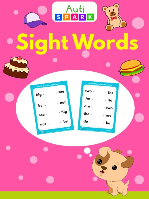 sight words matching jpeg