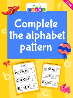 31 Complete The Alphabet Pattern