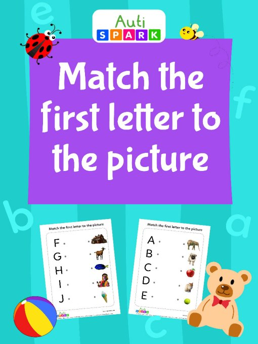 98 Match The First Letter To Picture