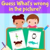 Circle The Missing Part Activity Workbook