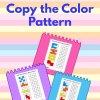 Copy The Colored Blocks–Trace The Blocks 02
