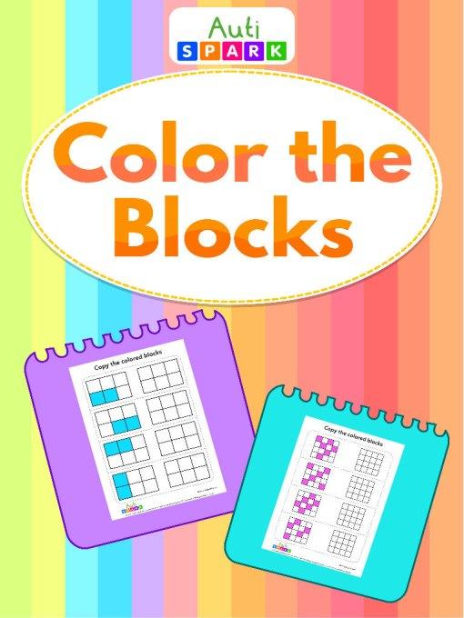 Copy The Colored Blocks–Trace The Blocks