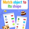 Match The Objects To Its Shape–Matching Workbook