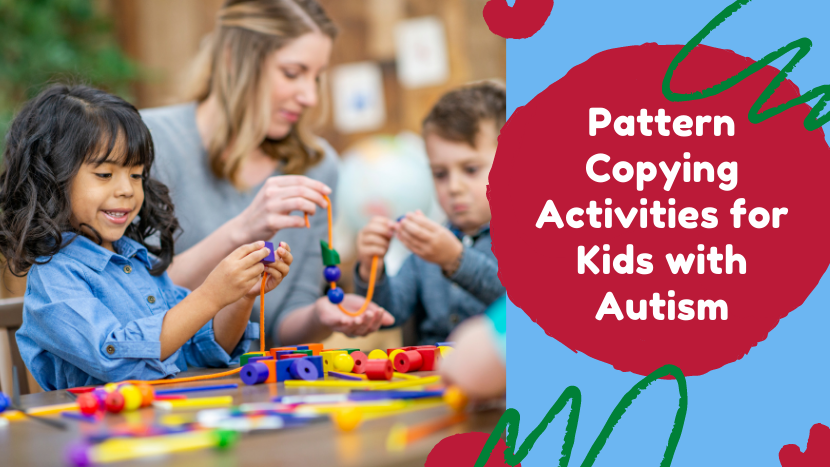 Pattern Copying Activities for Kids with Autism