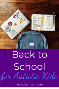 Back to school for autistic kids