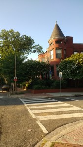 one of the old houses in capital hill, the neighborhood where I stayed