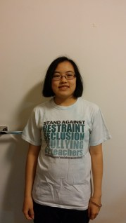 Stand Against Restraint, Seclusion, and Bullying by Teachers shirt