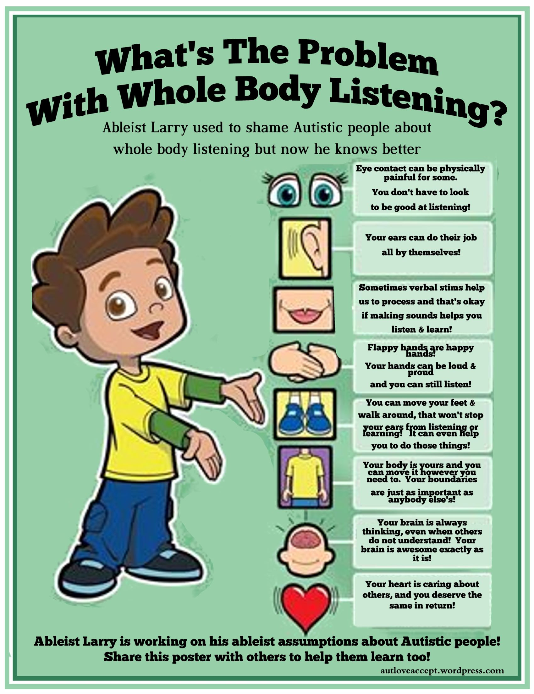What S The Problem With Whole Body Listening