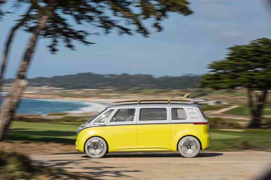 ELECTRIC VEHICLE VW I.D. BUZZ