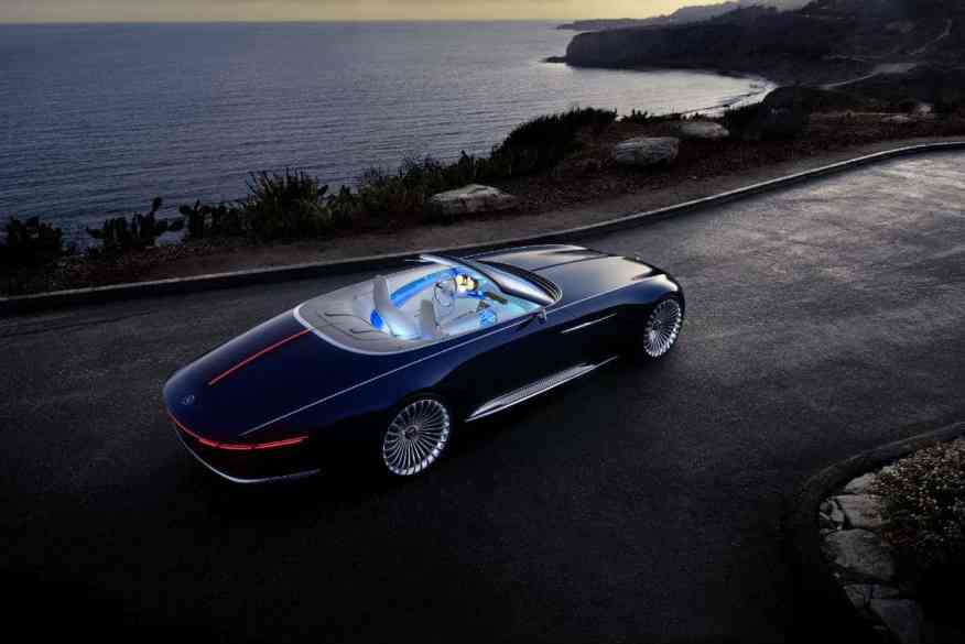 ELECTRIC CONCEPT CAR VISION MERCEDES MAYBACH 6