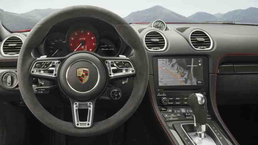 SPORTS CAR INTERIOR PORSCHE 718 GTS BOXSTER AND 718 GTS CAYMAN