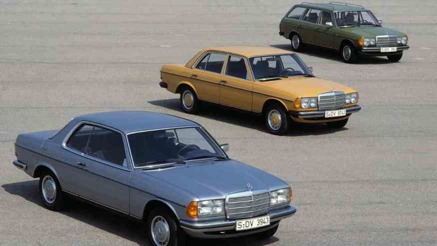 CLASSIC CAR MERCEDES-BENZ W123