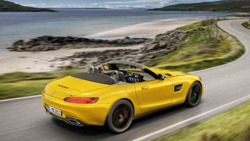 SPORTS CAR MERCEDES AMG GTS ROADSTER