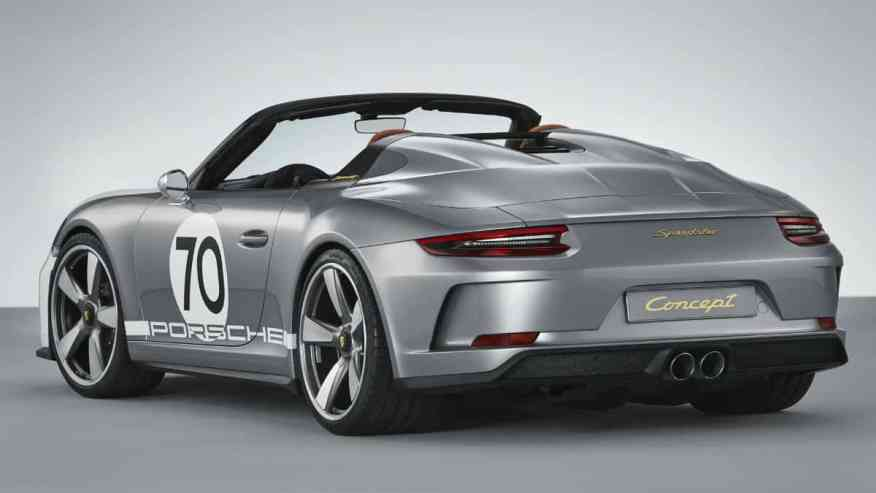 SPORTS CAR PORSCHE 911 SPEEDSTER