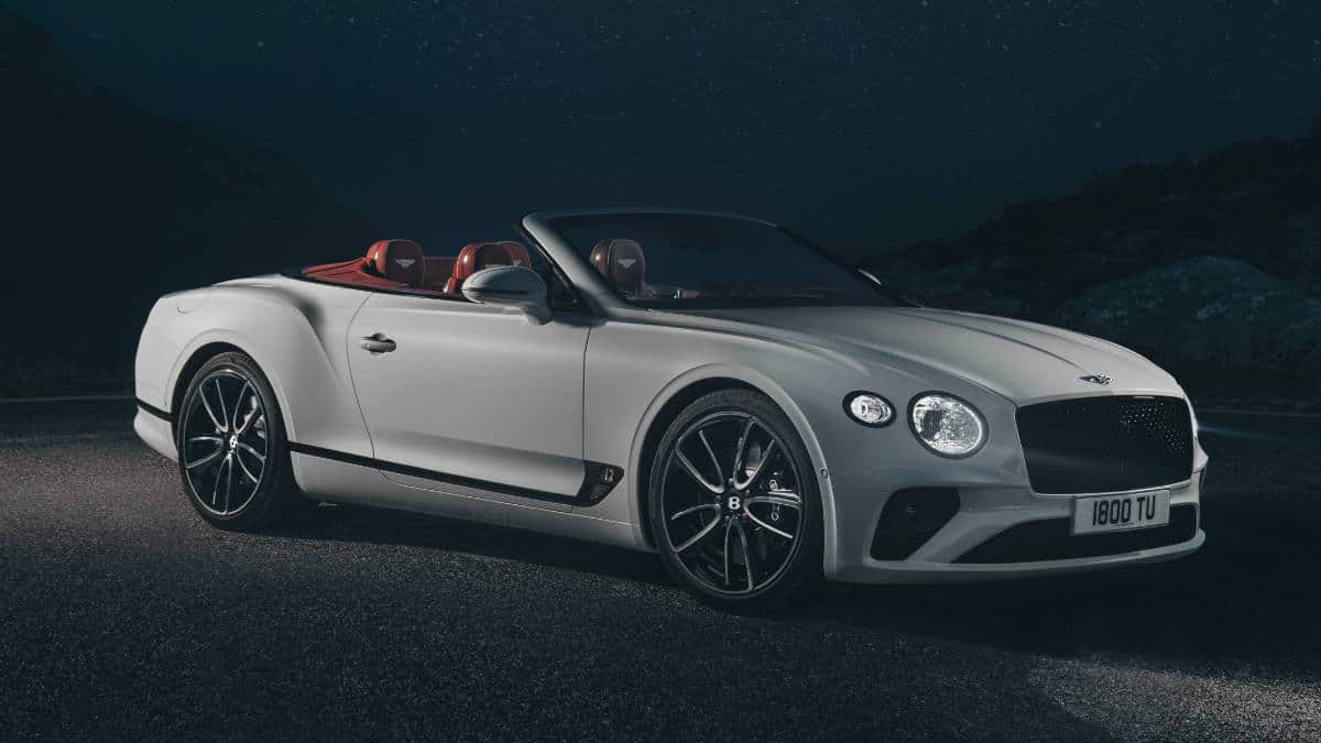 LUXURY SPORTS CAR BENTLEY CONTINENTAL GT CONVERTIBLE