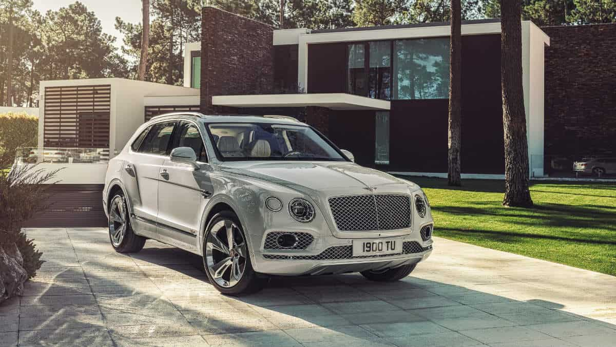 LUXURY SUV BENTLEY BENTAYGA HYBRID
